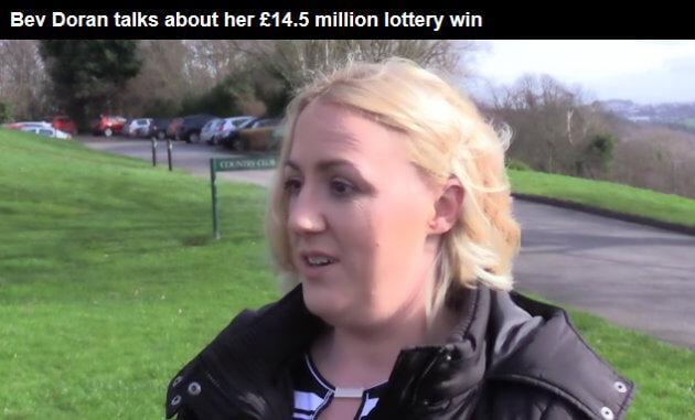 Bev Doran Wins EuroMillions