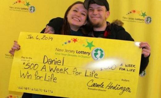 Daniel Shelton lottery winner