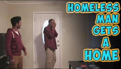 Homeless Lottery Winner Eric Gets a Home