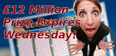 EuroMillions prize expiring