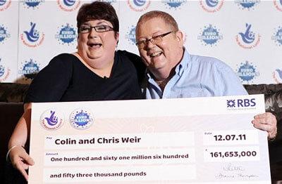 euromillions winners weir