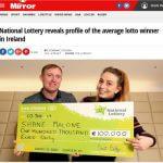 Irish lottery winner profile