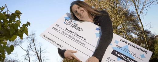 Jacqui Shannon Millionaire Raffle Winner