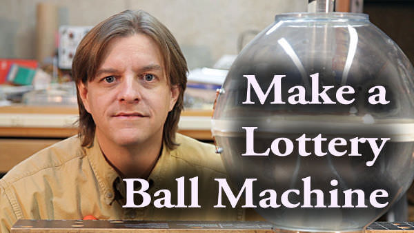 Make your own lottery machine at home