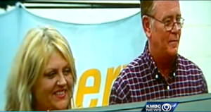 Mark and Cindy Hill Powerball winners