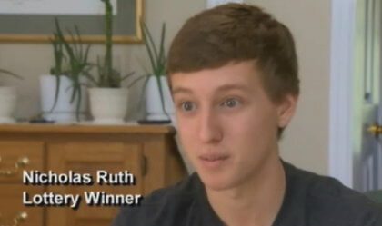 nick ruth lottery winner