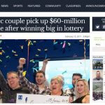 Villenueve and Marie-Josee Picard win Lotto Max