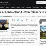 Rockland lottery winners