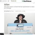 Woman learns she's a millionaire after 25 days!