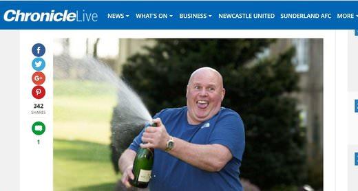 Bar Manager Wins A Million Pounds!