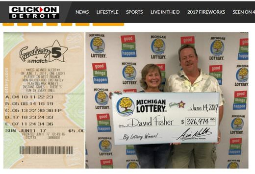 Brighton Man Wins Retirement Money From the Lotto