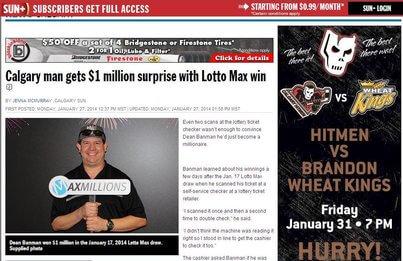 calgary lotto max