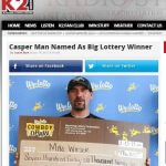 Metal Worker Posts $742K Lotto Win