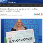 Mail Carrier Posts $1 Million Instant Ticket Win