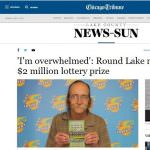 Chicago Man Wins $2 Million Lotto Prize