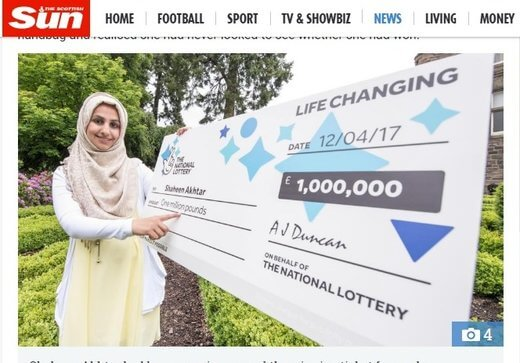 Dundee Mum Becomes a Millionaire
