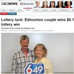 Couple Posts Third Lotto Win
