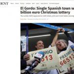 El Gordo Lottery Draw