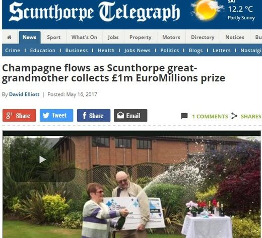 Great Grandmother Becomes A Millionaire