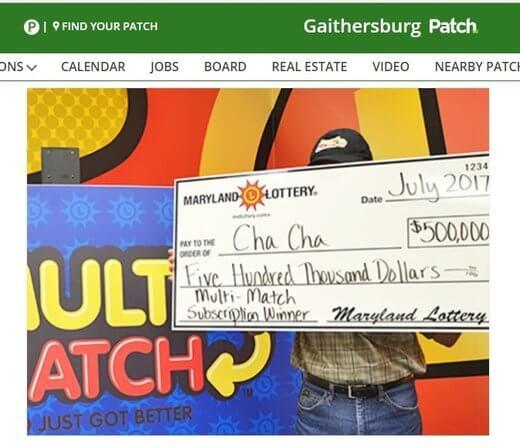 Grandpa Wins $500,000 Lotto Prize