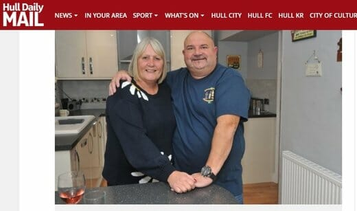 Hull Lotto Winners Enjoy Life
