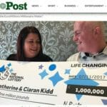 Irish Couple Post Euromillions Lottery Win