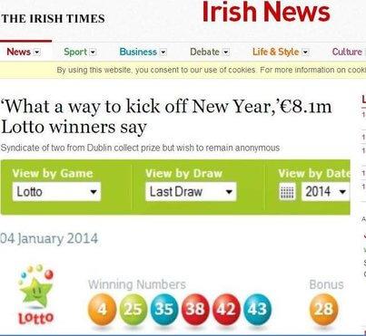 Irish Winners