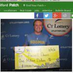 Man attributes lotto win to good karma!