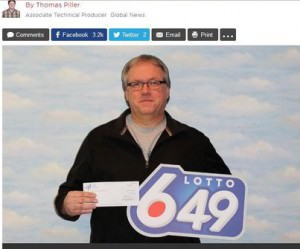 6/49 lotto winner
