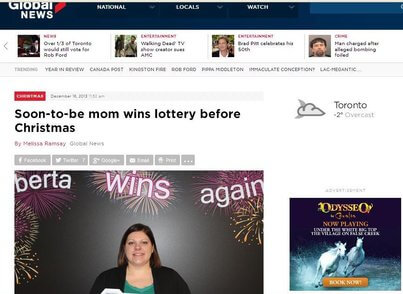 mom to be wins millions