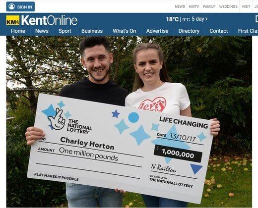 Railroad Worker Wins £1 Million