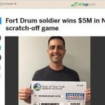 Soldier Wins $5 Million Lotto Prize!