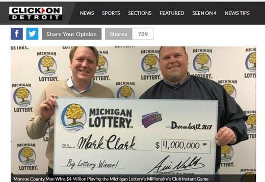 Driver Bags $4 Million Lotto Prize