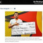 Man Wins Lotto Prize Twice