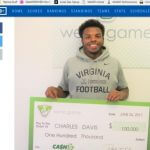 Virginia Athlete Wins $100,000