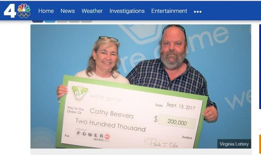 Virginia Couple Win $200,000