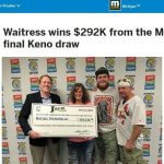 Waitress Wins $292K Lotto Prize