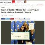 Lotto Winner To Open Yogurt Shop