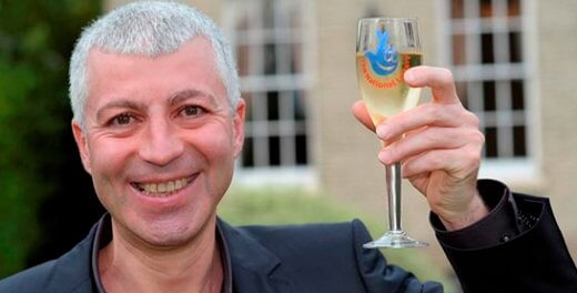 George Traykov double jackpot winner