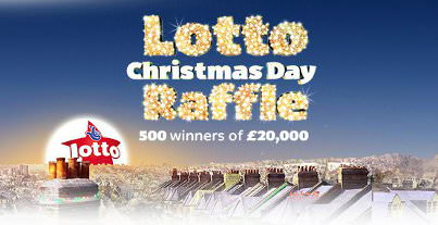 UK Lotto Christmas draw special