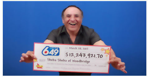 Canada 649 winner
